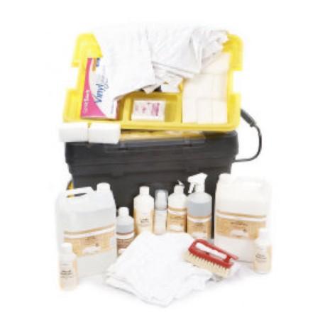 PRO LEATHER CLEANING KIT (Kit Pro de Limpeza de Couro)