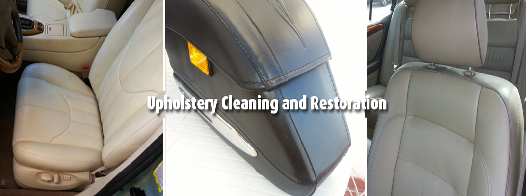 Cleaning & protection of leather and fabric produts